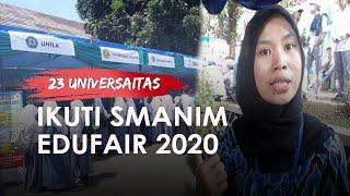 Pertama Kali Dilaksanakan, SMANIM Edufair 2020 Hadirkan 23 Universitas di SMAN 1 Megamendung Bogor