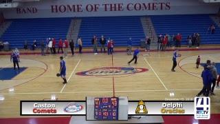 Caston Varsity Boys Basketball vs Delphi
