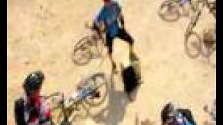 preview picture of video 'Mountain biking. Israel. Arad - Dead Sea (Nahal Hemar and Maale Zeyron).'
