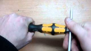 NEW Wera chiseldriver screwdriver