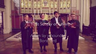 Adam Lay Ybounden, Boris Ord sung by St Matthew's Westminster directed by Nigel Groome