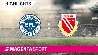 Sportfreunde Lotte - FC Energie Cottbus | Spieltag 34, 18/19 | MAGENTA SPORT
