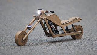 How to make a cardboard bike || very simple