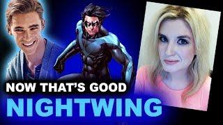 Brenton Thwaites is Nightwing - Titans DC TV Show