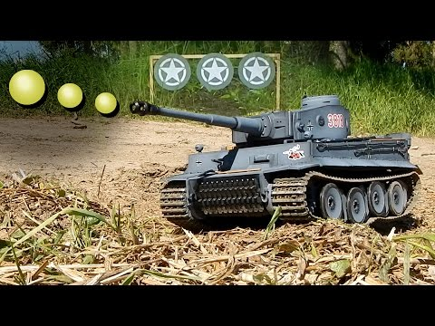 Torro Tiger I  1/16 -  Demo Schussfunktion