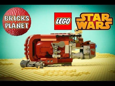Vidéo LEGO Star Wars 75099 : Le Speeder de Rey
