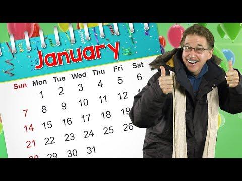 January   Calendar Song for Kids   Jack Hartmann