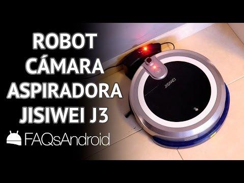 Review robot aspiradora Jisiwei I3 con cámara