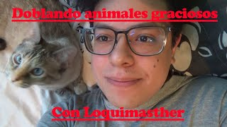 Doblando animales graciosos con loquimasther