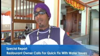 Restaurant facing water issues...Special Report