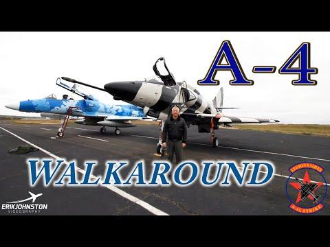 A-4 Skyhawk Walkaround