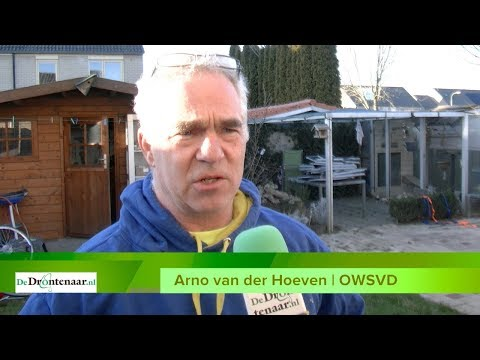 Hond uit ijskoude water gered na heldhaftige actie van Arno van der Hoeven uit Swifterbant