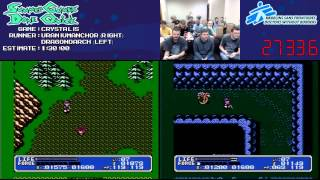 Crystalis Speed Run Race in 1:05:51 at #SGDQ 2013 [NES]