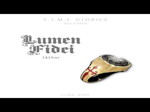 T.I.M.E Stories -  Lumen Fidei: Discussion