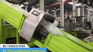 Beier machinery PE PP film recycling pelletizing granulation machine