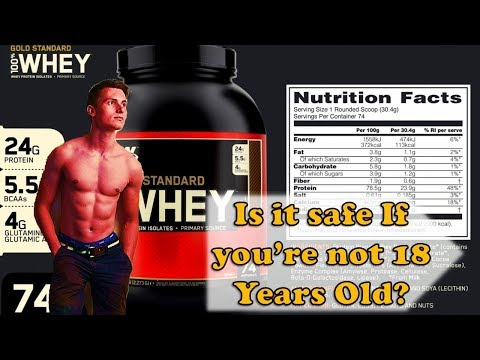 Is Whey Protein SAFE at Age under 18 Years Old| Bodybuilding?