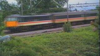 preview picture of video 'WCML Lineside Views - in 1992'