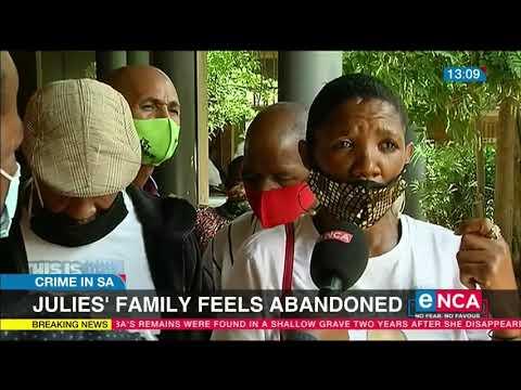 Nathaniel Julies family feels abandoned