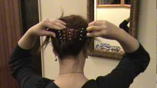 Magic Comb Tutorial Stella Hair Accessories