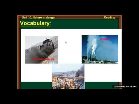 [THPT Phụ Dực] - Tiếng Anh - Bài dạy: Unit 10: Nature in danger, part A: Reading - Cô giáo: Nguyễn Thị Diễm