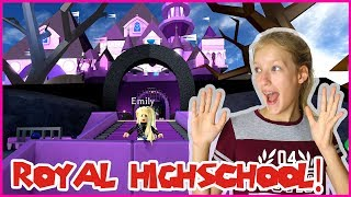 Going to a NEW ROYAL HIGHSCHOOL!