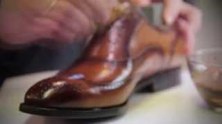 Ручное прозводство элитной обуви под заказ в Москве.