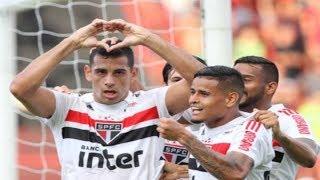 Sport 1 x 3 São Paulo - Narração: Oscar Ulisses, Rádio Globo SP 12/08/2018