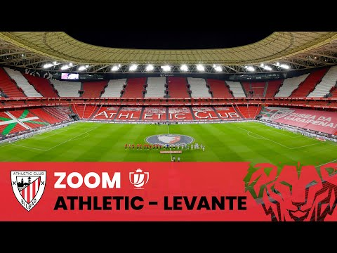 📽 ZOOM | Athletic Club – Levante UD | 1/2 (ida) Copa del Rey 2020-21