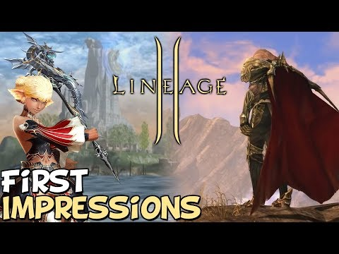 """Lineage 2 First Impressions """"Is It Worth Playing?"""""""