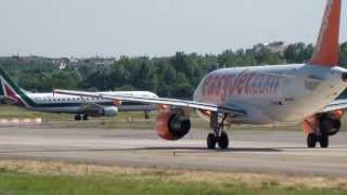 preview picture of video 'SPOTTING Milan Linate 2-7-2013'