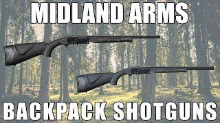 "Midland Backpack GMBP1224 12GA 24"" Single Shot Shotgun"