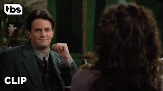 Friends: Chandler's Blind Date with Janice (Season 1 Clip) | TBS