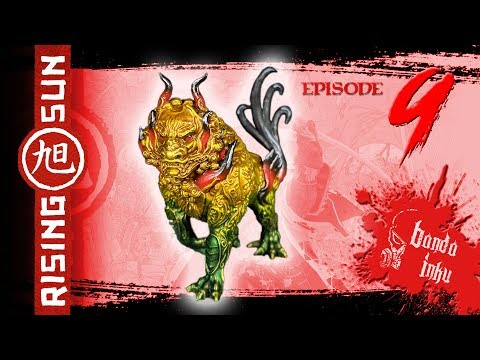 Painting Rising Sun Ep. 9 - Komainu