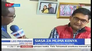 Siasa za mlima Kenya : Mgawanyiko uliotokea baina ya wanaopinga rais na wanaomtetea