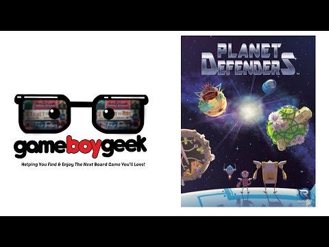 The Game Boy Geek Reviews Planet Defenders