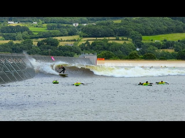 Surf Snowdonia - WORLD'S BIGGEST ARTIFICIAL WAVE POOL!!
