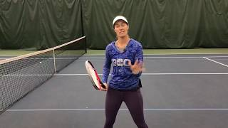 Tuesday Tennis Tips: Five tips for your volley