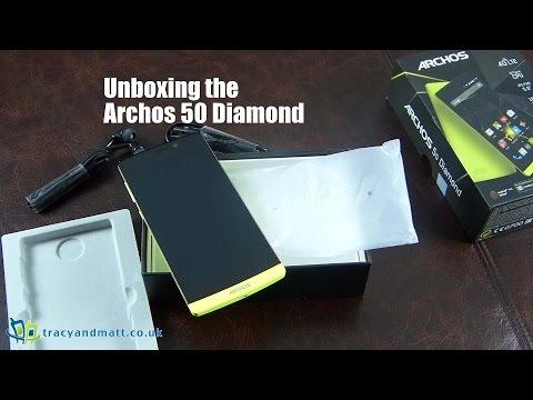 Unboxing Archos 50 Diamond