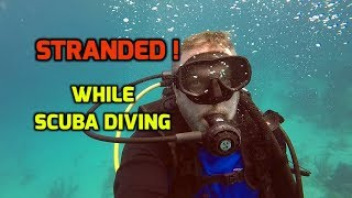 Bad Scuba Experience, Belize. Dive Master leaves me Stranded and lost.  Ep121