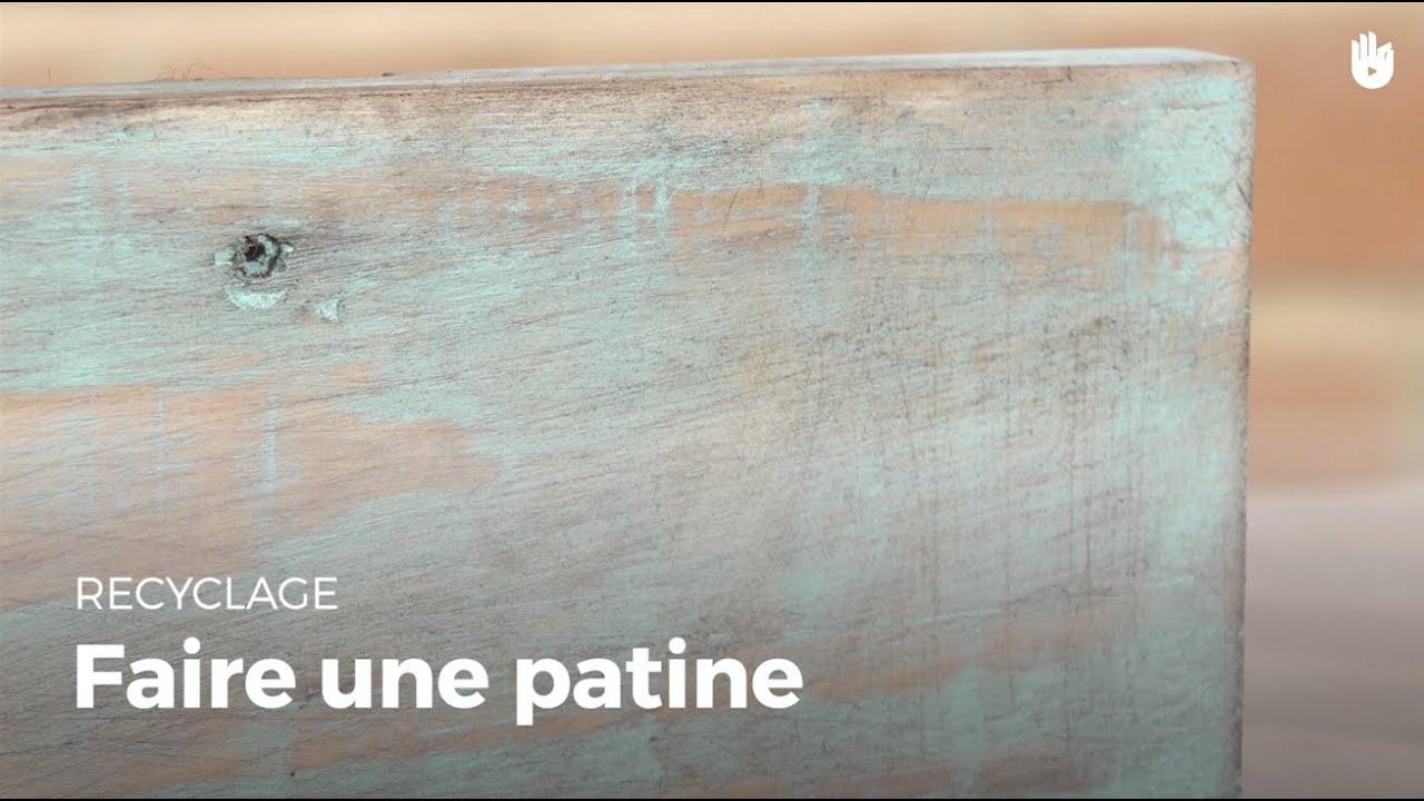 Savoir faire une patine sur du bois de palette fabriquer - Comment faire une patine sur un meuble ...