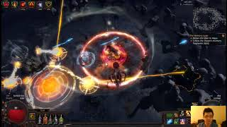 Keeping Red Elder alive with Frost Wall. Strat for low dps builds to help get Watcher's Eye.