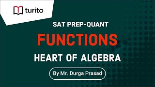 Functions | Heart Of Algebra | Turito | SAT Prep