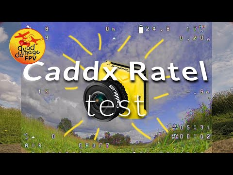Caddx Ratel Test - From BangGood.com