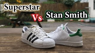 Superstar vs Stan Smith | Adidas Comparison + On Feet