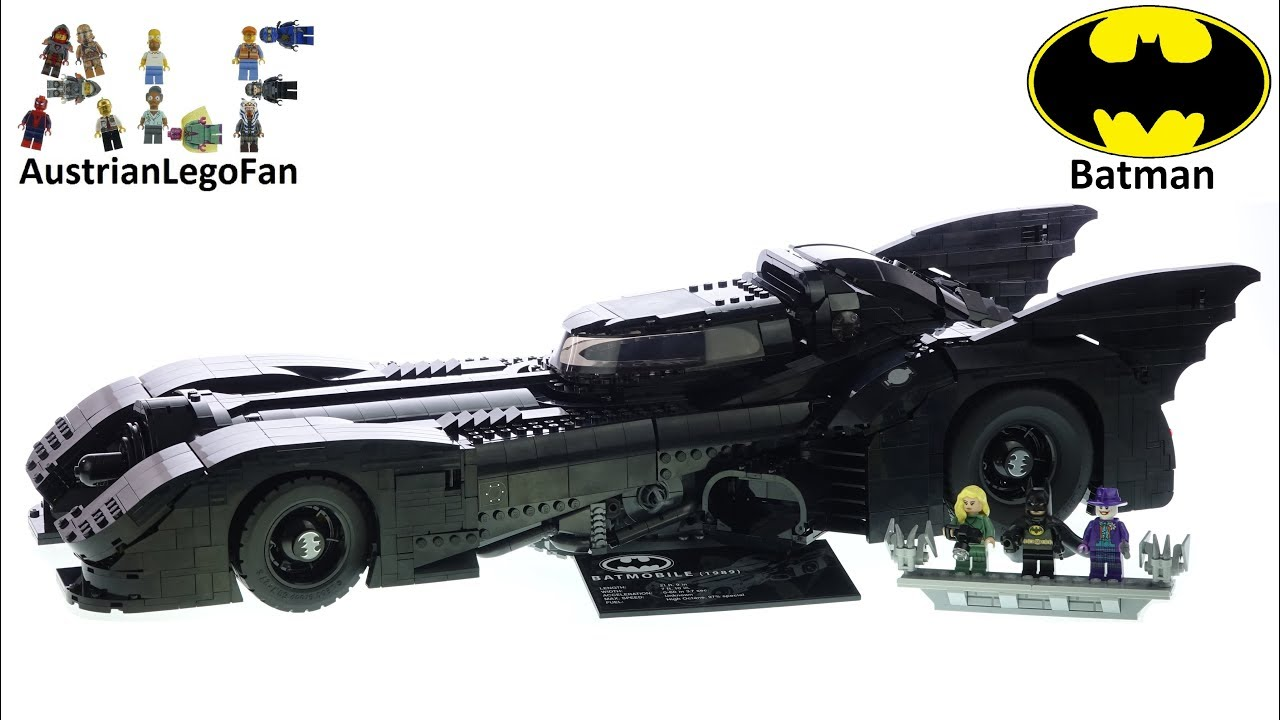 LEGO Batman 76139 1989 Batmobile - Lego Speed Build Review