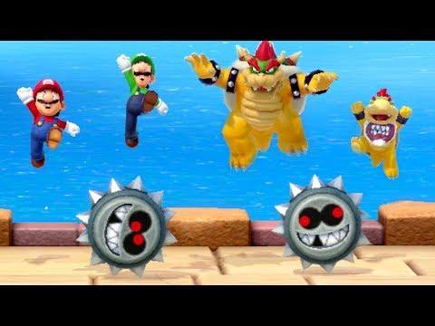 Super Mario Party - All Ally Minigames (Team Mario vs Team Bowser)