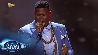 Top 4 Reveal: King B   'Lion Of Judah' – Idols SA | Mzansi Magic