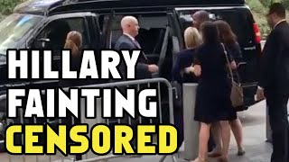 Hillary Clinton Fainting Video CENSORED by Associated Press - Clip DELETED of Clinton Collapse