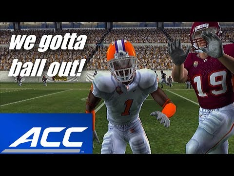 ALL AMERICAN CB - ACC CHAMPIONSHIP GAME & BOWL GAME - NCAA FOOTBALL 11 CB ROAD TO GLORY