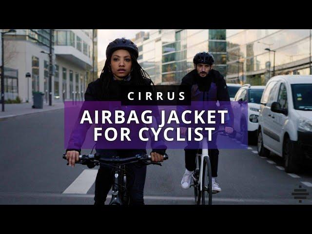 Во Франции разработали надувной жилет безопасности для велосипедистов